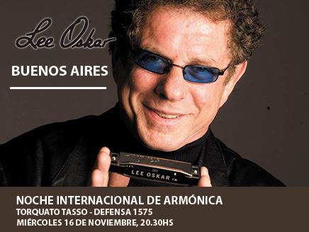 Lee Oskar en Buenos Aires